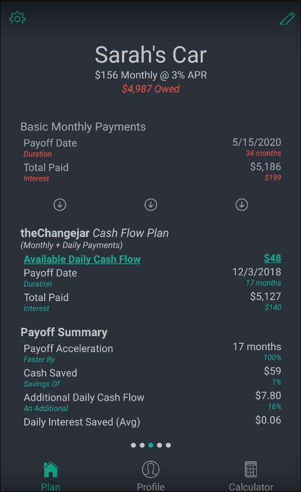 Debt Tile (Car Loan)