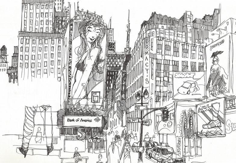 34th Street. Manhattan, NY