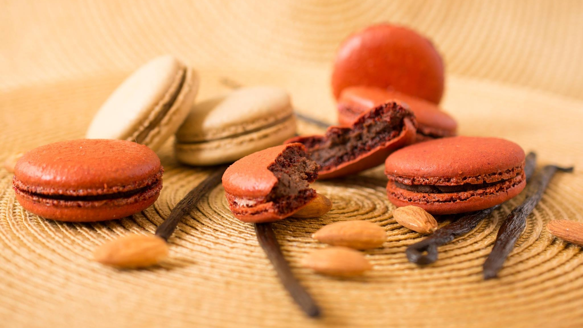 Chef Ione Cavalli New York - Catering and Macarons - macarons red.jpg