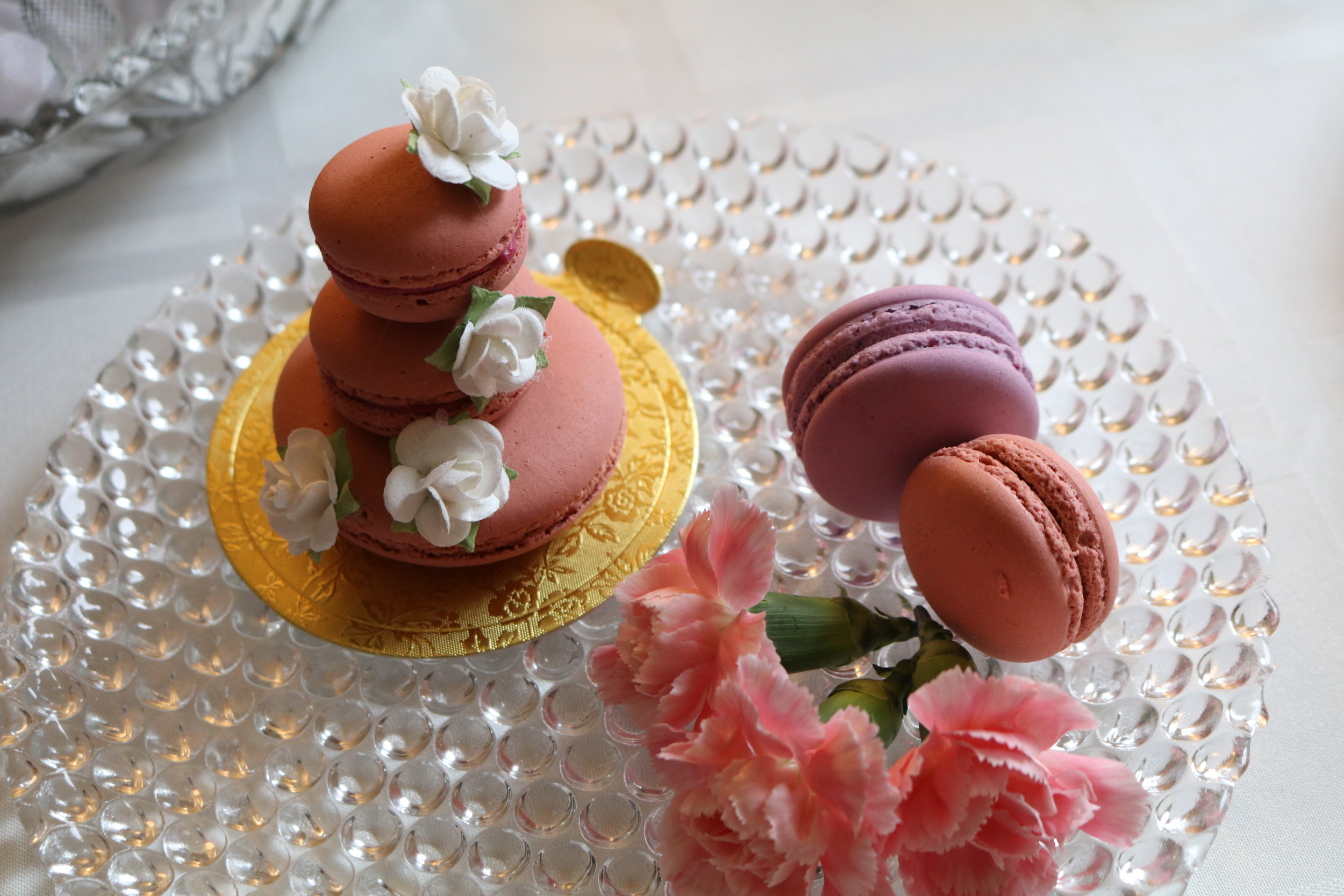 french macaron mini tower - Chef Ione Cavalli New York.JPG