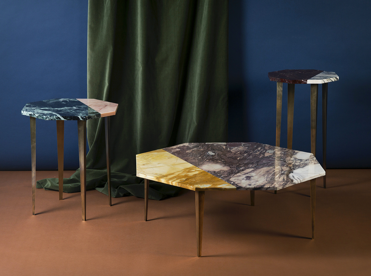 Marble tables -  http://campbell-rey.com/case-study/thierry-table-collection/