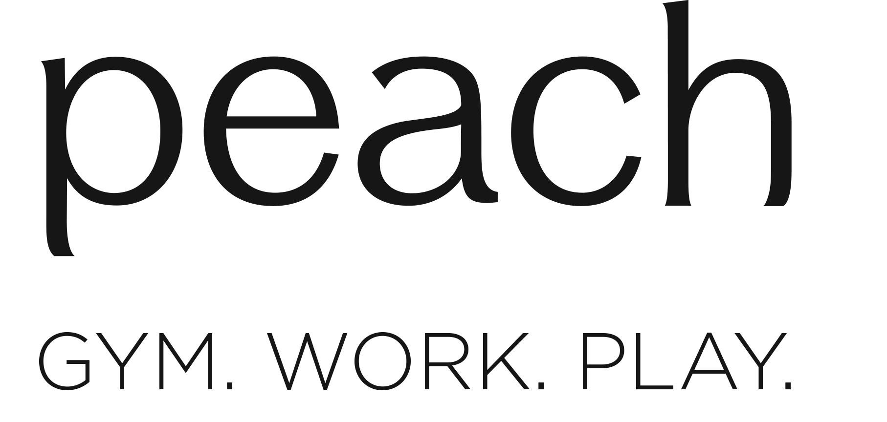 Peach gym work play logo transparent  (1).png