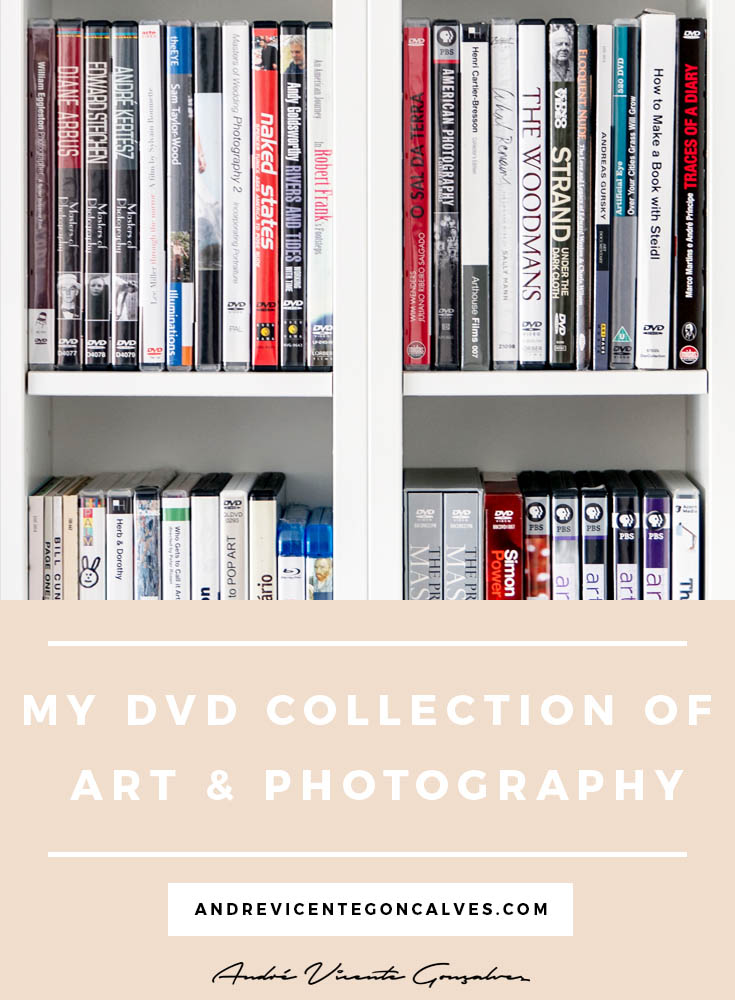 Andre Vicente Goncalves - My DVD Collection of Art and Photography