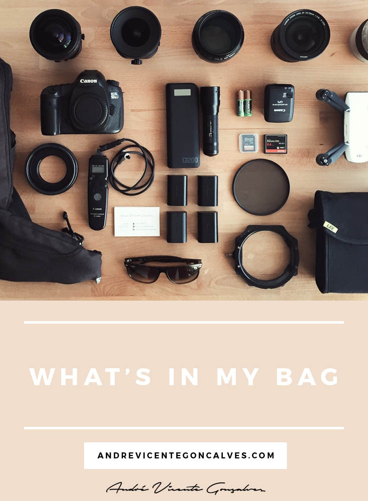 Andre Vicente Goncalves - What's in my bag