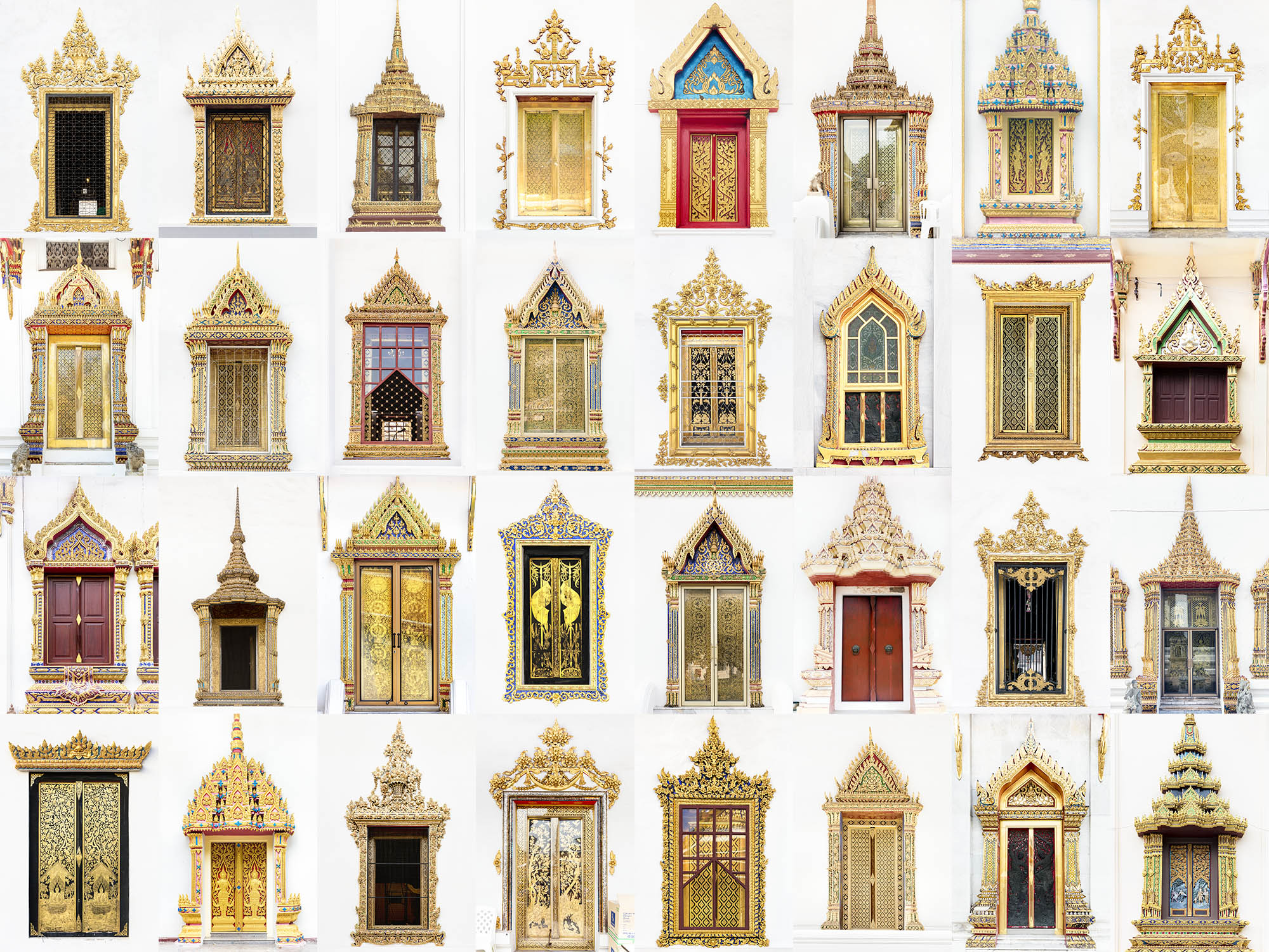 Windows & Doors of the World - Thai Temples