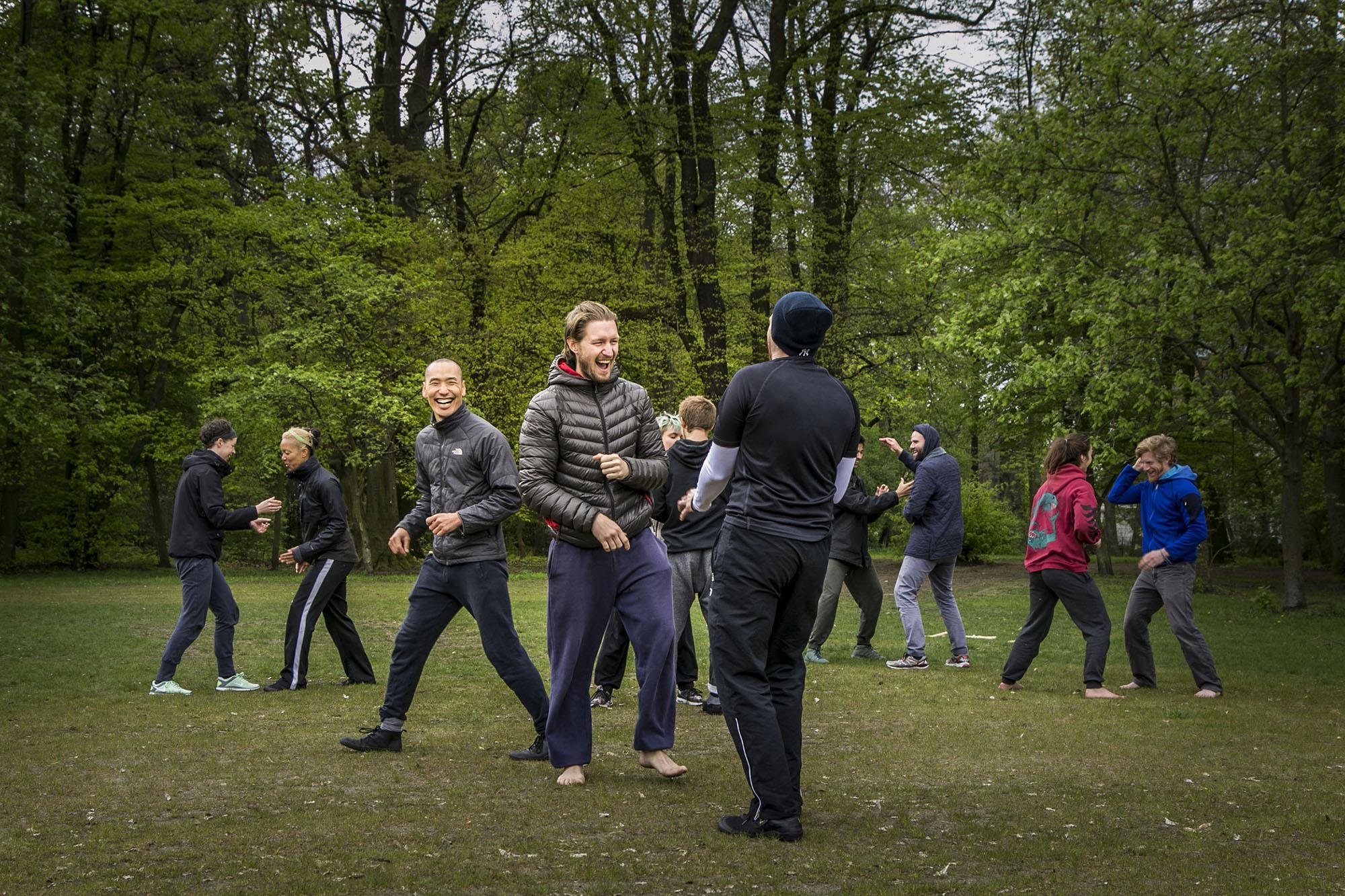 Movement Play workshop at Tempelhof Park | Berlin, Germany