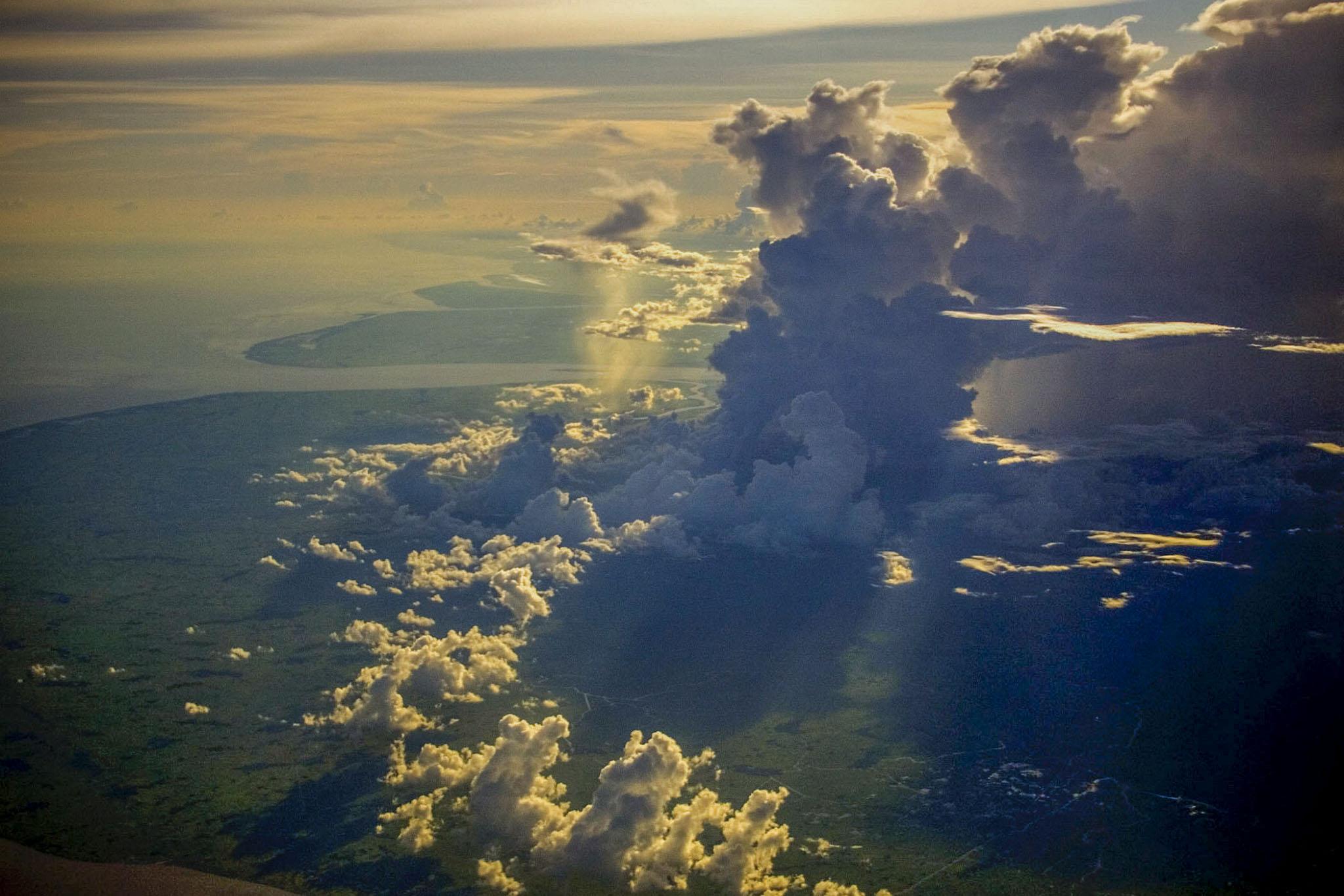 Plane, en route Thailand to Nepal