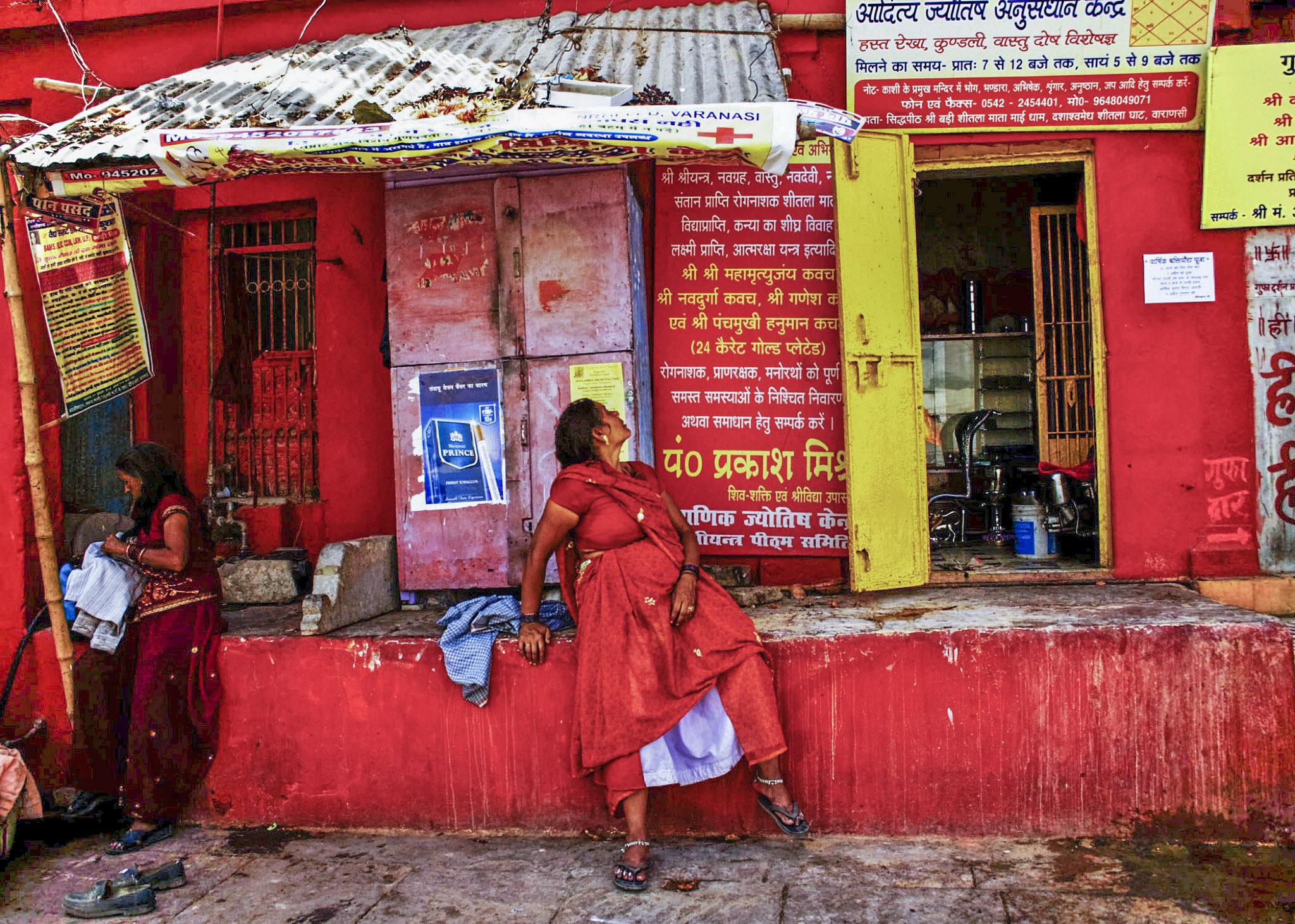 Varanasi vendor (India)