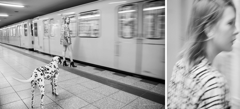 Fashion shoot for Berlin-based boutique Kimonomono