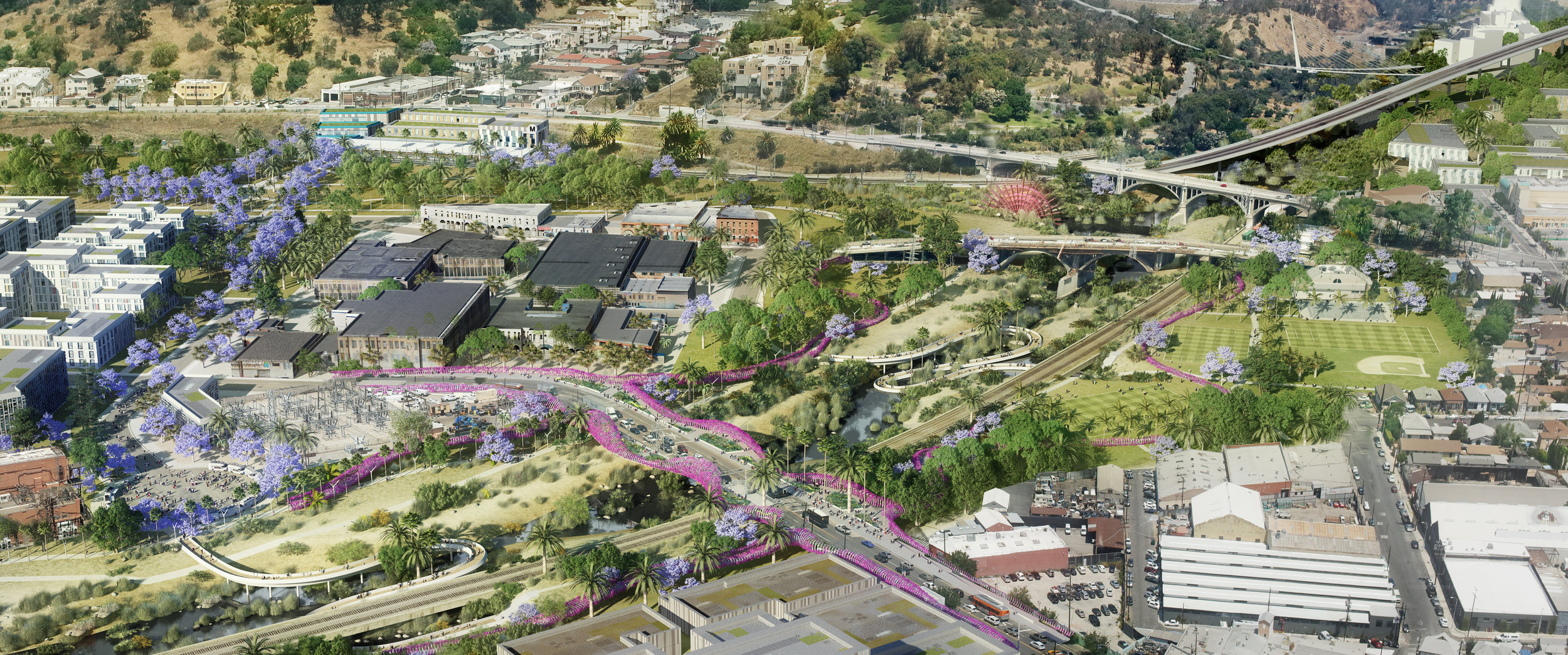 """Citing the roughly 8 million square feet of entitled development area surrounding the river and developable parcels, she said, """"Put those together and you have incredible opportunities to locate much needed housing and jobs in an area where it's welcomed and has minimal impacts on existing communities."""""""