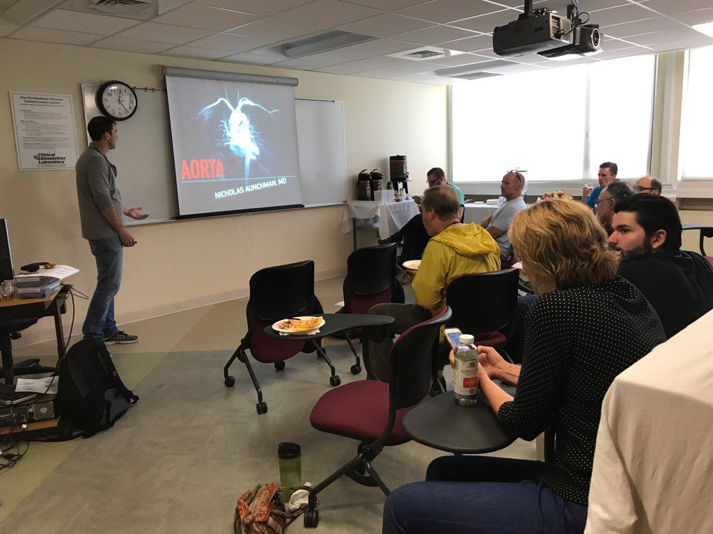 POCUS WORKSHOP - Thursday January 30, All Day - Various FacultyThe POCUS will take place at the Simulation Lab on the UVM Campus. This will be a full day workshop with the opportunity to learn hands-on scanning from world class POCUS educators. The course is open to both novice and advanced scanners and will be tailored to support individual interests. Specific applications covered include transthoracic and transesophageal echo, DVT, thoracic, abdominal, renal, MSK, procedural guidance, and regional anesthesia.