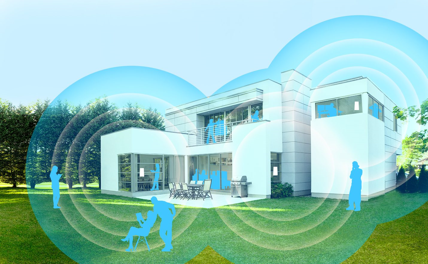 Whole Home WiFi - Our whole home WiFi provides enterprise-strength network capabilities with at-home simplicity. It has been designed to meet the demands of the modern connected home. Easy guest access lets you keep track of who's on your network, who's off, and how much they're using.Enjoy high-performance connectivity with entire house coverage. Let us remove your dead spots and turbocharge your WiFi..