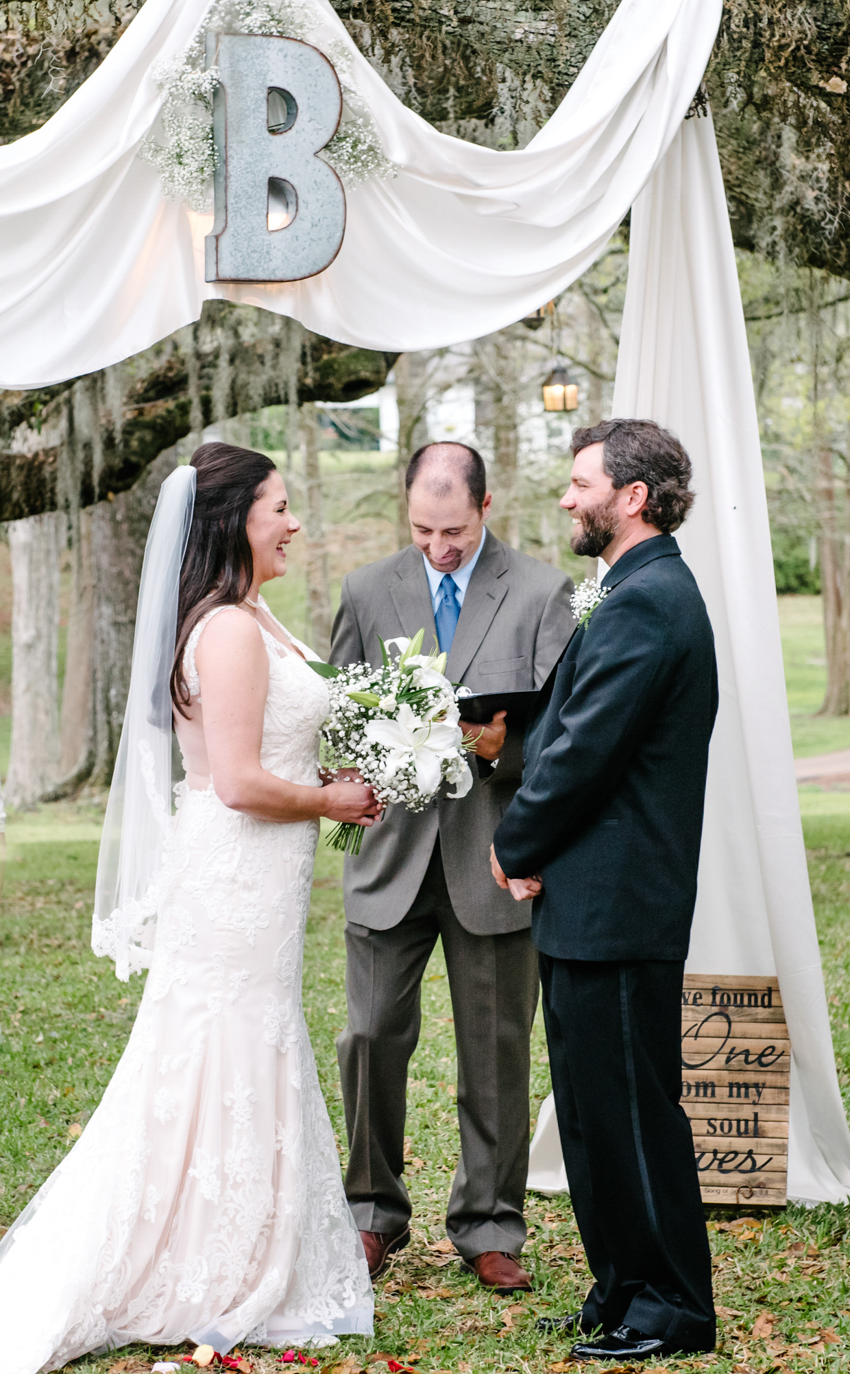 """Seriously can't thank you enough for our Wedding Day photos! This one especially - it shows our true selves before God and everyone!!! Thank you for capturing the moment. It will be forever cherished!""  Jerika"