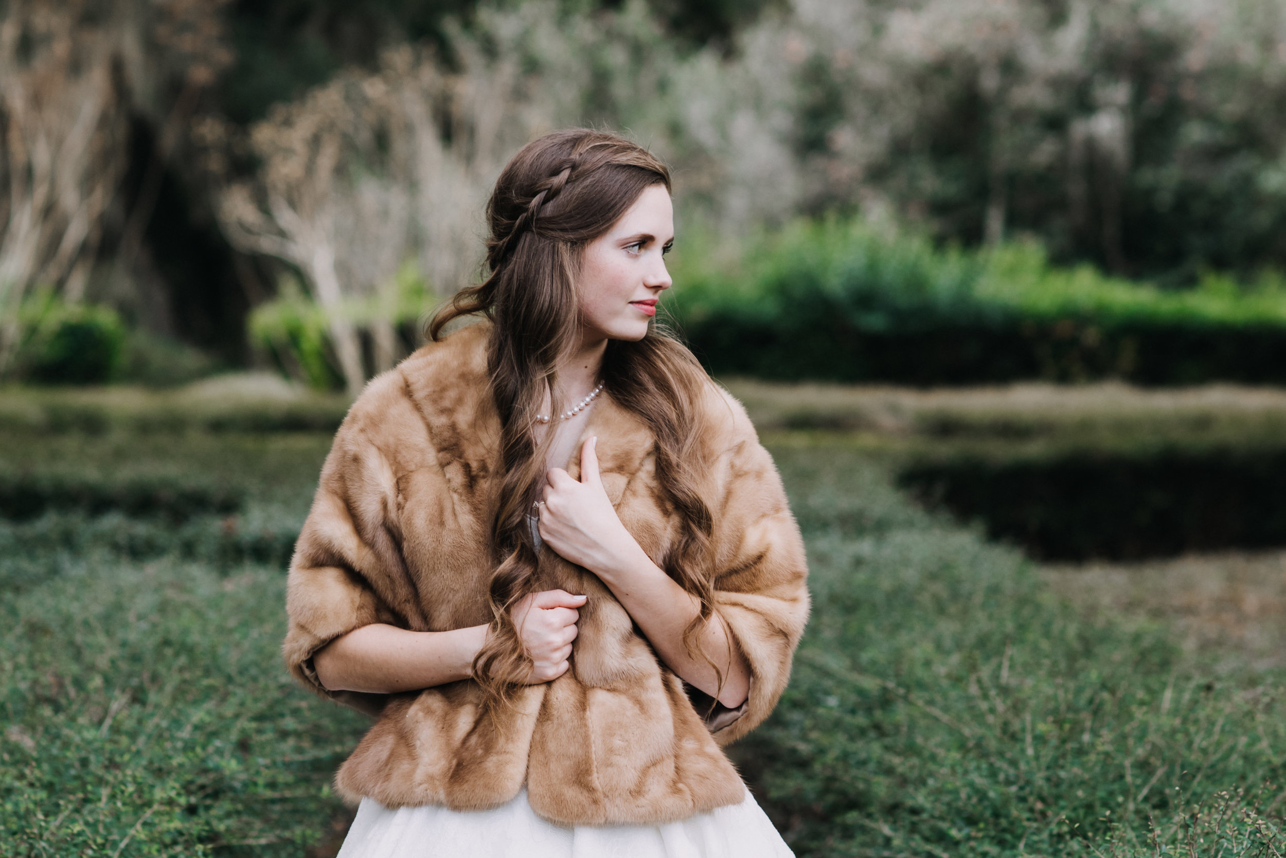 Bridal Portrait-Rosedown Plantation