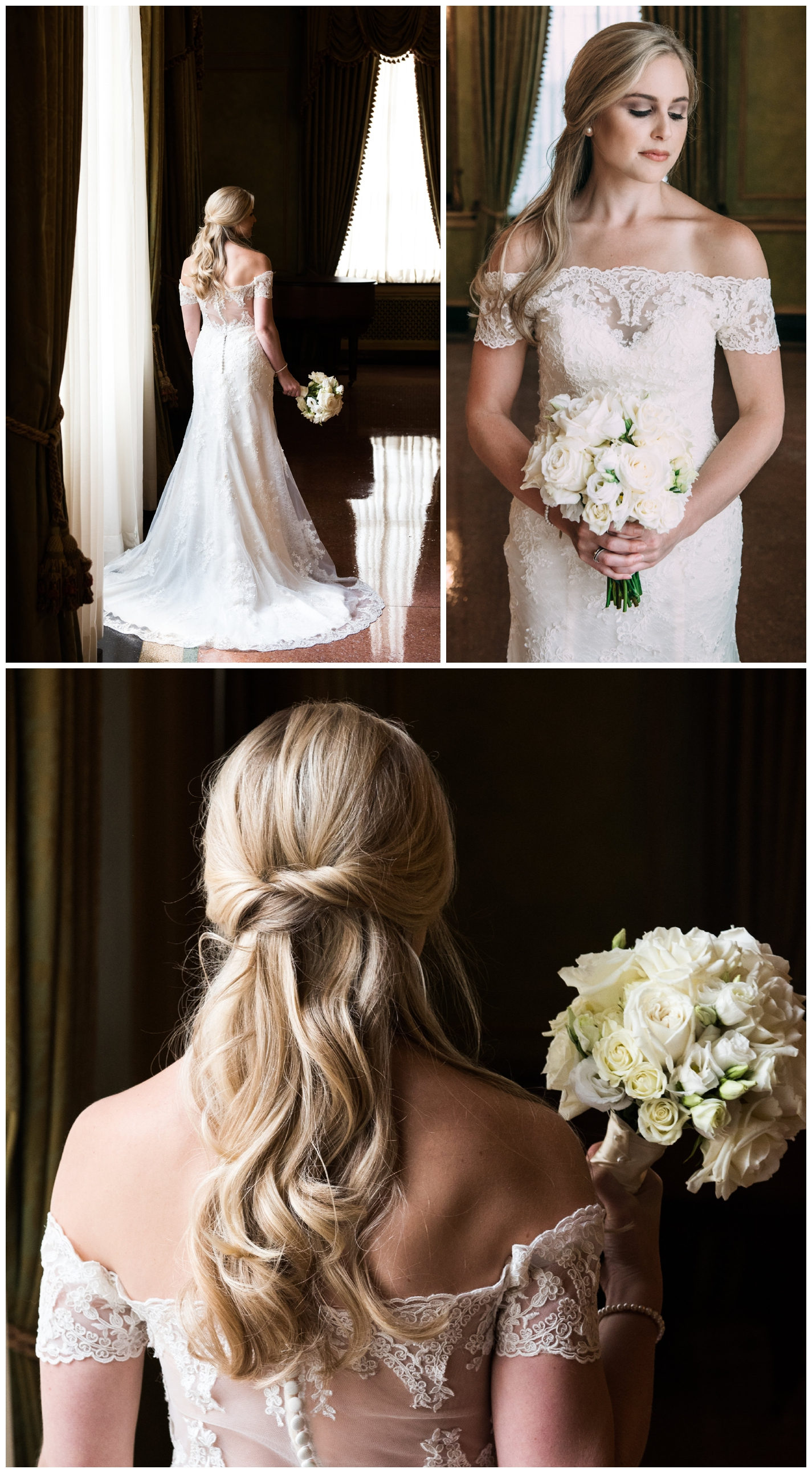 Bridals at Old Governor's Mansion in downtown Baton Rouge, Louisiana.