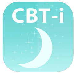 CBT-i Coach  on  iTunes  and  Google Play