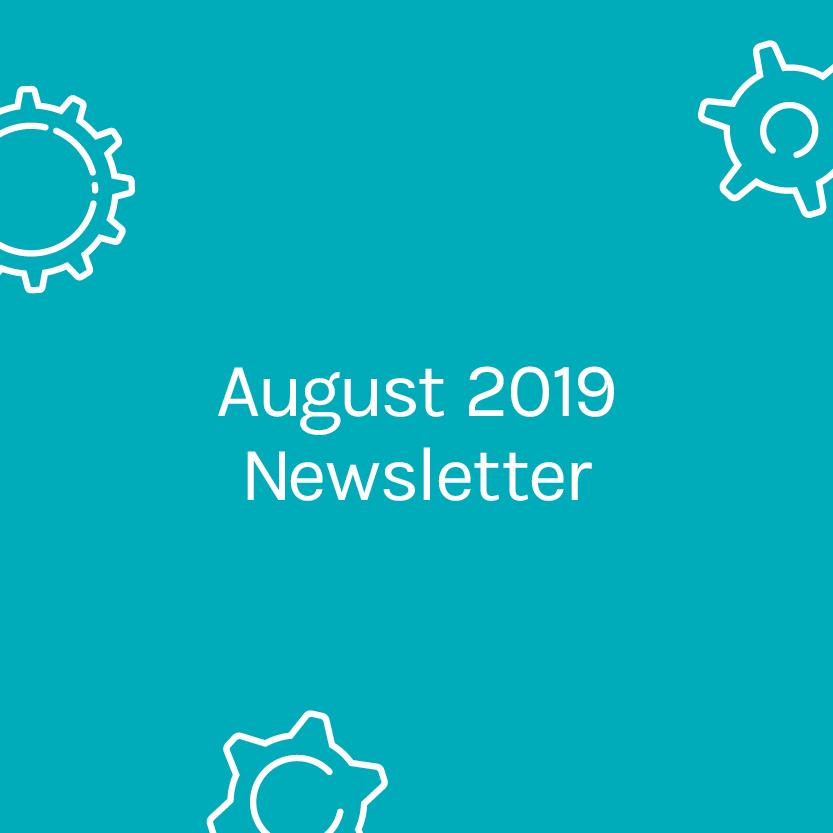 August Newsletter 2019