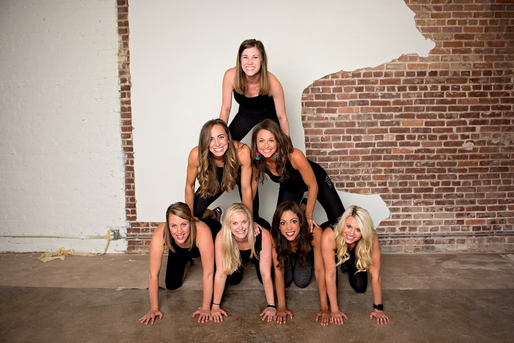 I've always wanted to be a part of a human pyramid...