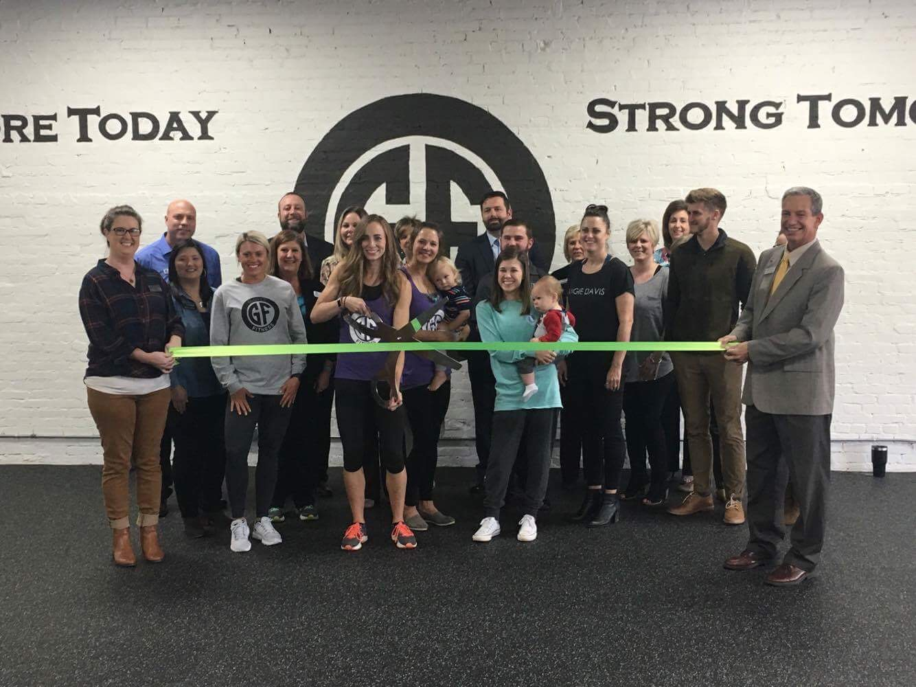 Our Ribbon Cutting on October 11th, 2017! We have such a supportive Chamber!