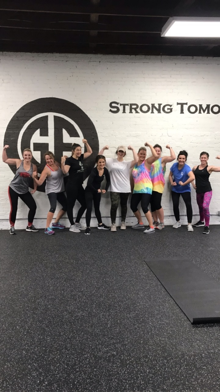 We specialize in STRONG women!