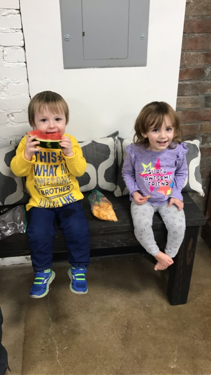 We are Kid-friendly at GF! FREE childcare and Kids Bootcamp classes