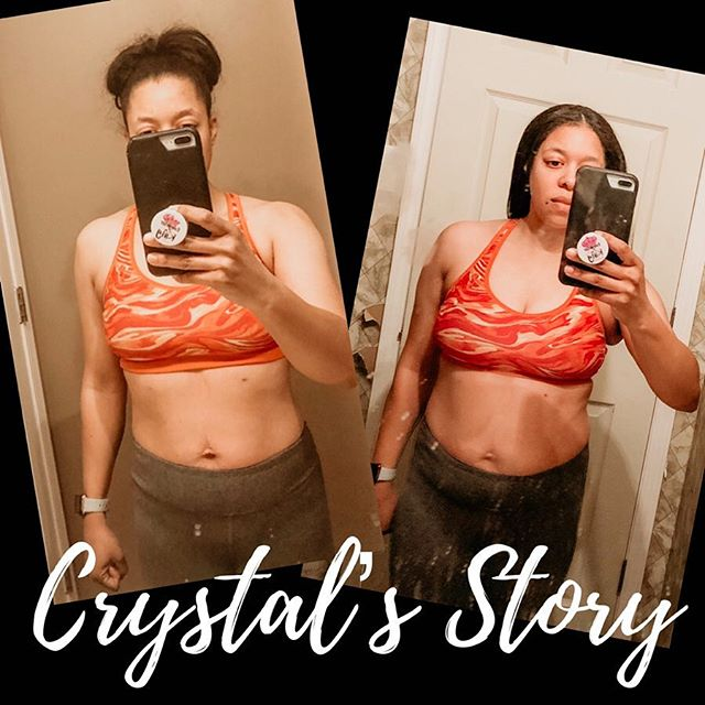 "CRYSTAL'S STORY💃🏽 - Down 1️⃣0️⃣ lbs Down 4️⃣.5️⃣ inches - Crystal is a force. She has the most amazing personality and work ethic. She makes class so much more fun! Her determination to better her health is indescribable! She has been a loyal member since the day we opened, but wanted an extra challenge, so she signed up for the January Weight Loss Challenge and her results were amazing!🔥 - She is so full of energy, love, and kindness. To know Crystal, is to adore her. We are so incredibly happy that she is a face we see daily. She makes this gym a better place! Crystal, thank you for all you do for GF💕 - ""Working out was never a problem for me, because I love it. I'd workout like crazy, complete every challenge, and not lose anything. This Weight Loss Challenge helped me focus more of the nutrition side so I could see some results in my weight and loss of inches. The biggest takeaway was the support and accountability from all the ladies and coaches. They helped me understand that we all have bad days and set backs but just keep going, don't stop, and you'll make it to the top."" -Crystal Webster #gloverfitness #fitlikeaglover #gloverlover #transformations #weightlosschallenge"