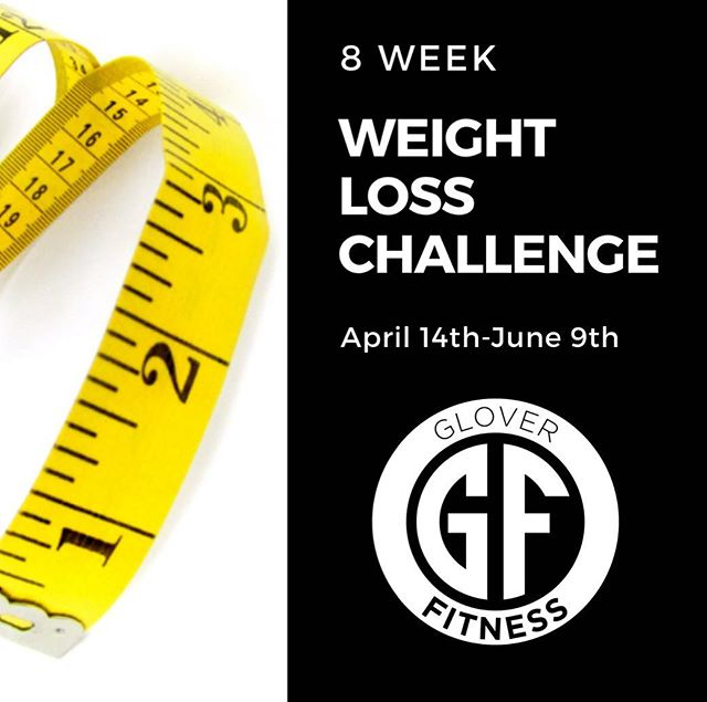 8 Week Weight Loss Challenge starts April 14th! Tired of feeling defeated in your weight loss efforts? We want to empower you with all the tools you'll need 🙌 What's included: -10 Class Pass -Biweekly Weigh-in and measurements -Membership in private FB group -FB Live event with our Registered Dietician -Learn how to utilize My Fitness Pal -Personalized daily calorie range -Nutrition Manual -Access to our registered dietitian and nutrition certified trainer -Sample Spark Stick $150 Total—Sign up on or before April 7th 🤗 Meeting April 14th at 4:30pm. You ready? Sign up using the link in the comments!  #weightlosschallenge #wherecouldyoube #gloverfitness #letsdothistogether #accountability