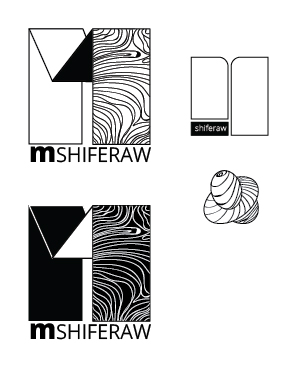 A selection of thoughts that I had for the logo