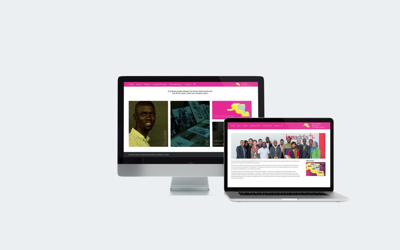 East Africa Media Labs Website