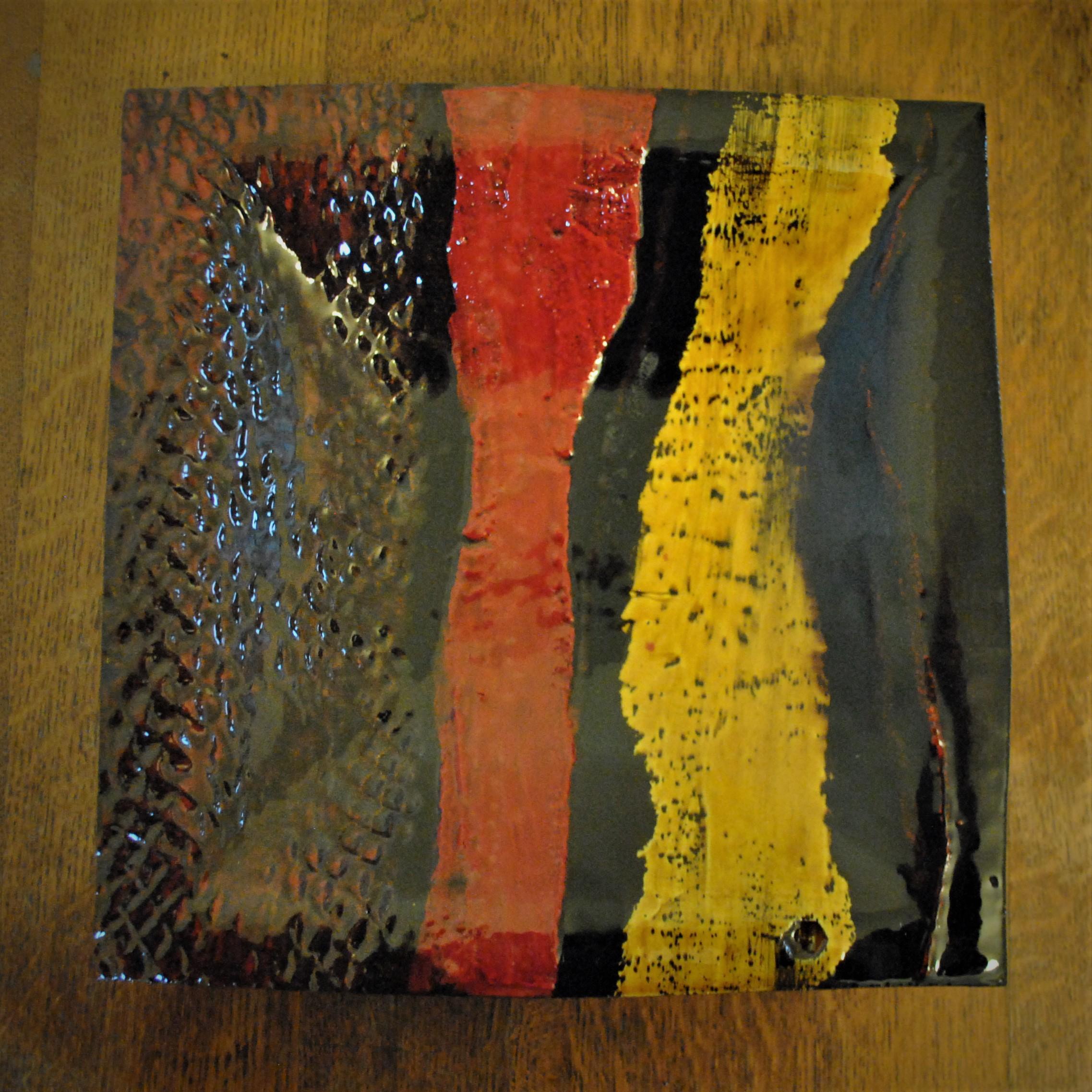 Boundaries red & yellow (2018) Dave Harper