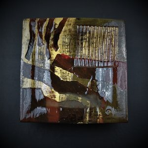 Dave Harper Abstract Square slipware bowl. 2016 DSC_4688+(2).jpg