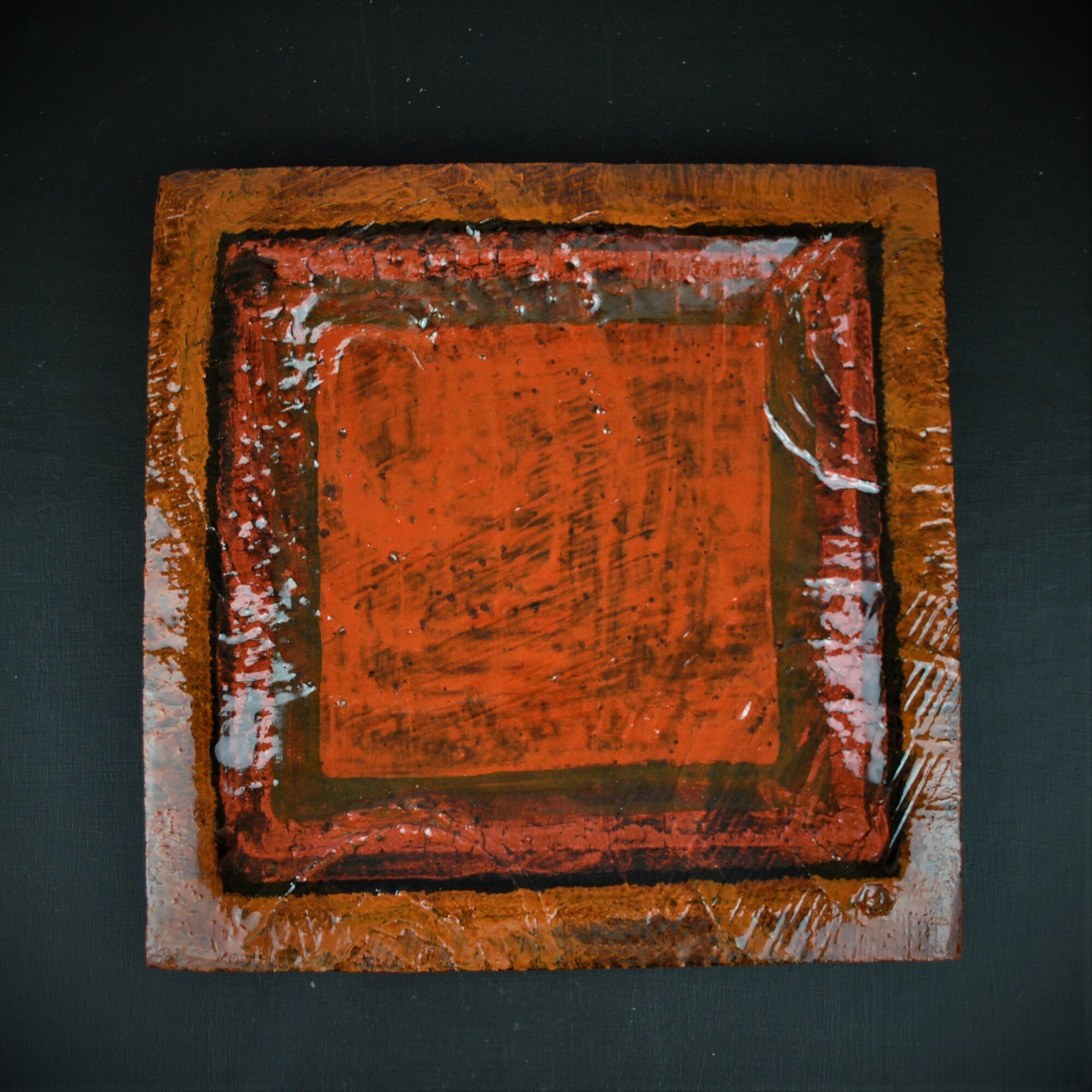 Dave Harper 2018 Orange Squares on black background. (Square edit)DSC_6339 (2).JPG