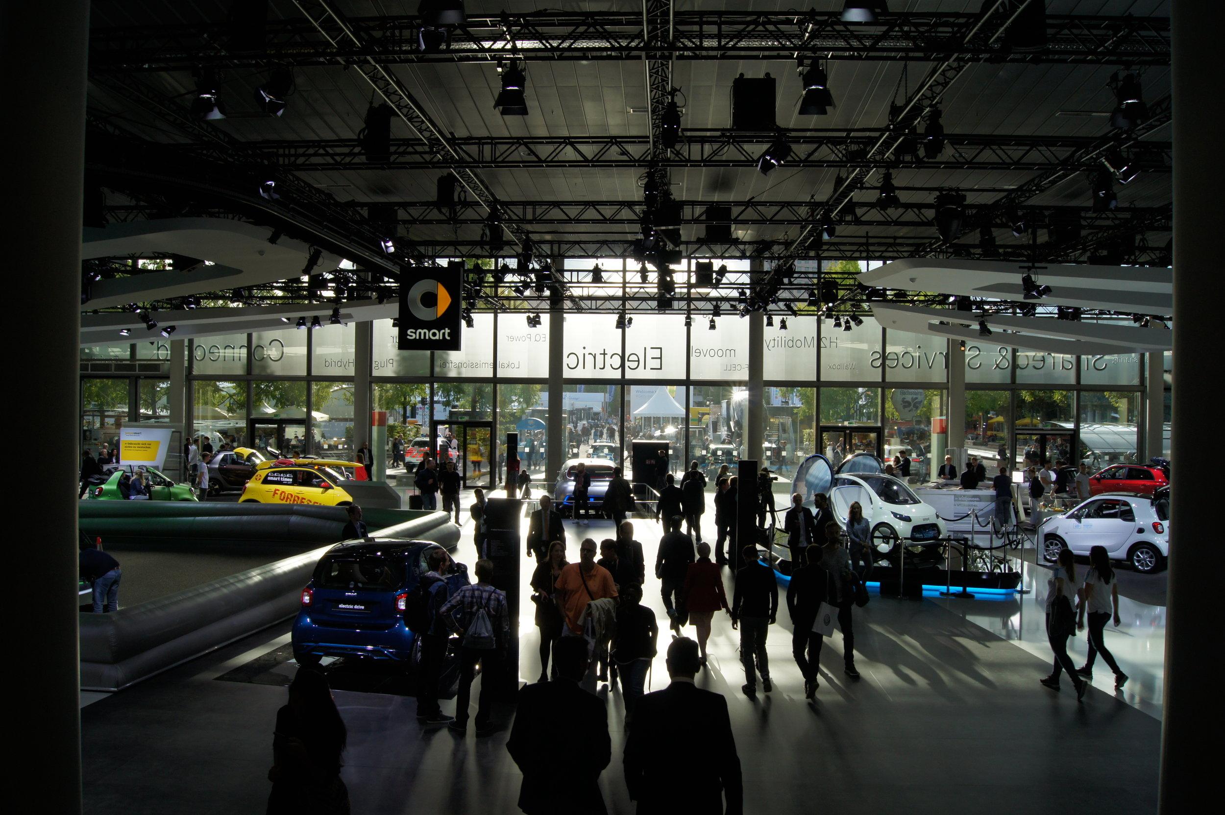 Take advantage of the benefits electric and semi-autonomous vehicles