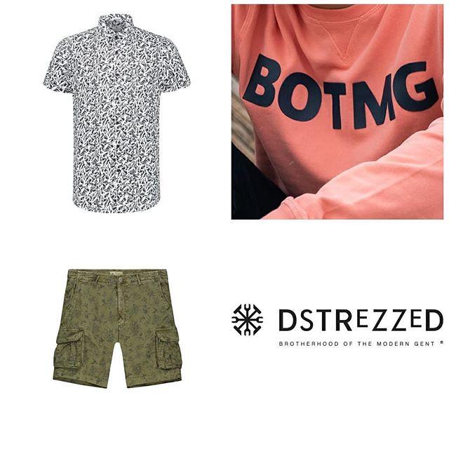"""L'univers #Dstrezzed est représenté par son esprit dandy cool qui se caractérise par ses pièces colorés et ses print vintage. 🆒 - - Retrouvez dans les points de vente #Communitees les vêtements """"clé"""" de la marque : pantalons chino, chemises print, shorts cargo et t-shirts ajustés. - - #conceptstore #casual #clothes #superdry #pepejeans #jott #hollister #abercrombie #Tommyjeans #aubonne #geneve #lausanne #outletaubonne #fashionpics #shirts"""