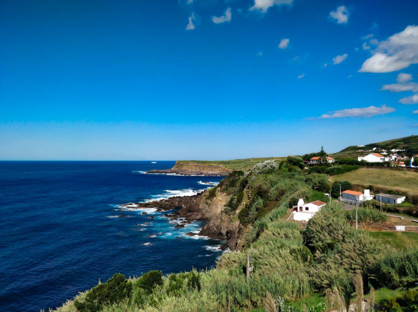 The view from around Quatro Ribeiras, Teiceira Island