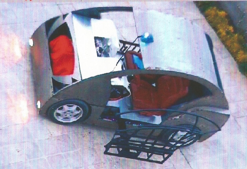 First iEV prototype - 2001