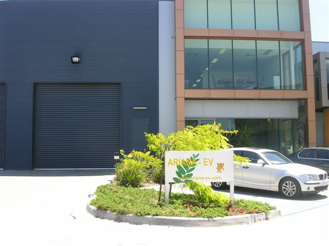 ARYANA EV - comany in Port Melbourne Australia 2004-2008