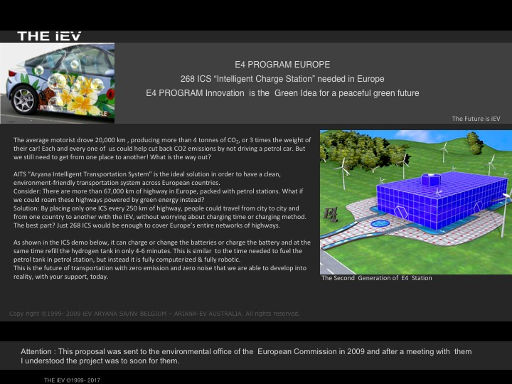 """268 ICS """"Intelligent Charge Station"""" needed in Europe -"""