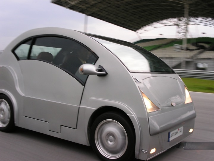 Inventor of the world's first Intelligent Electric Vehicle  2001 -