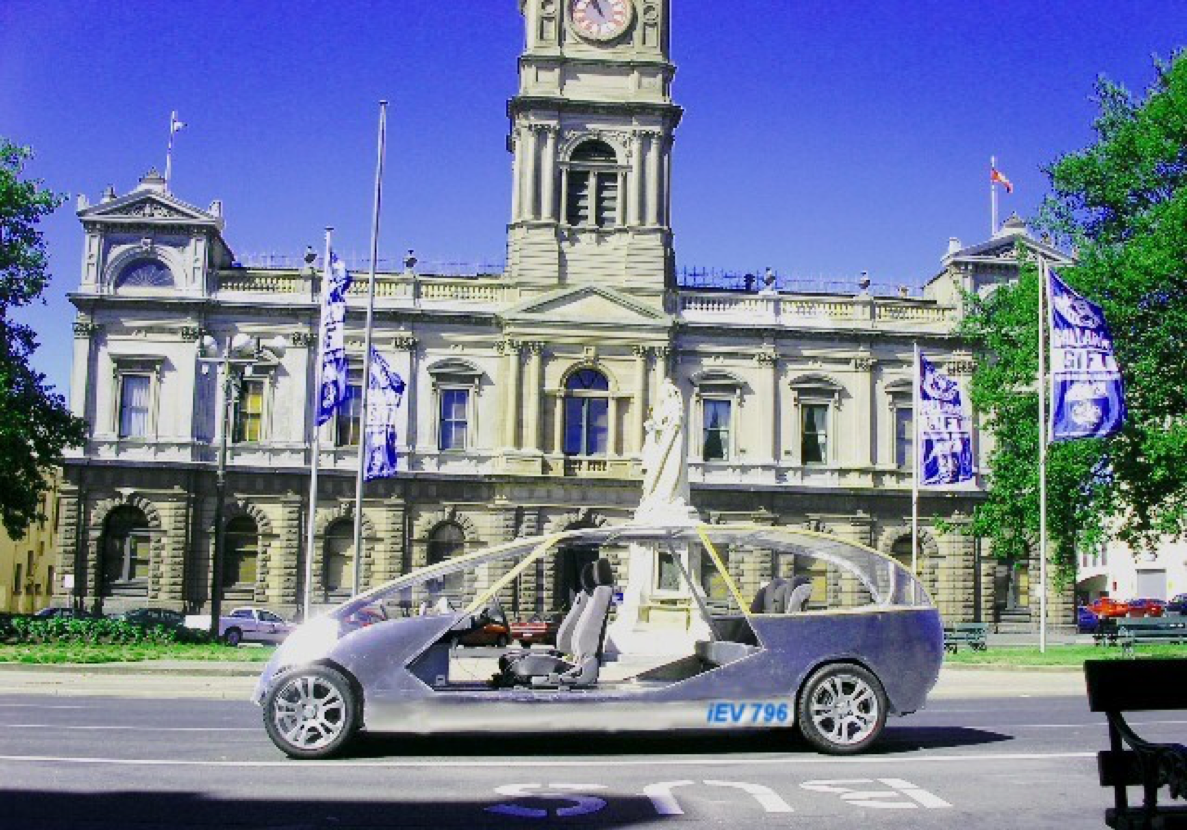 "- iEV 796 ""Intelligent Electric Vehicle ""Melbourne Australia 2004"