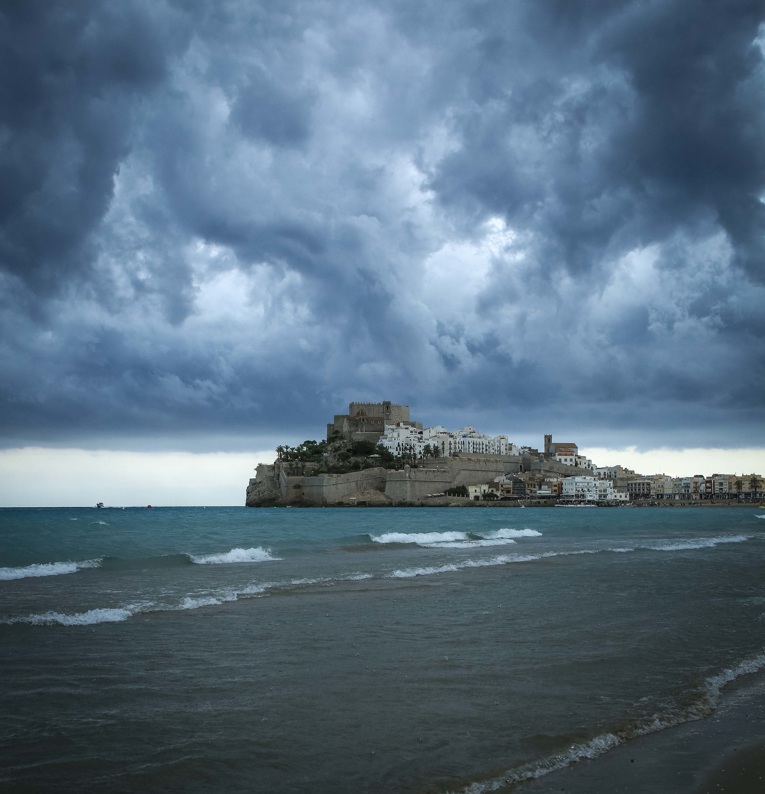 Storm Clouds above Peñíscola