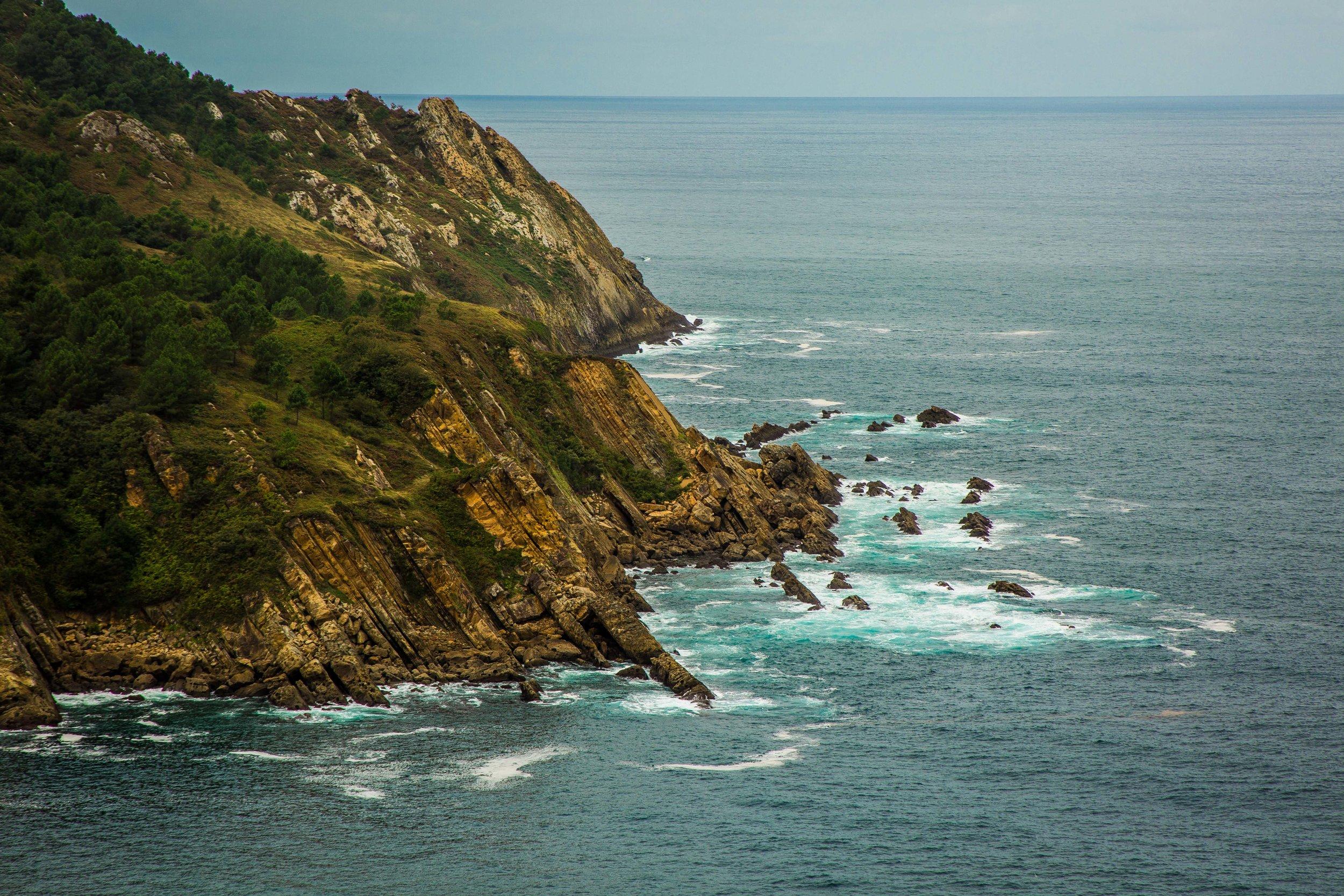 San Sebastián coastline