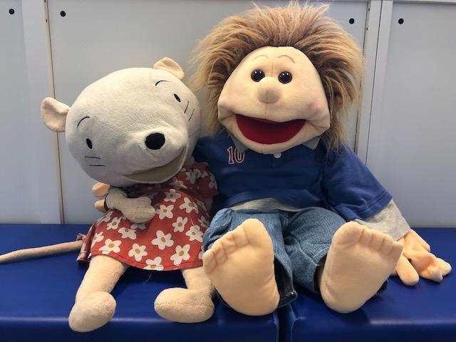 Nellie en Lucas -