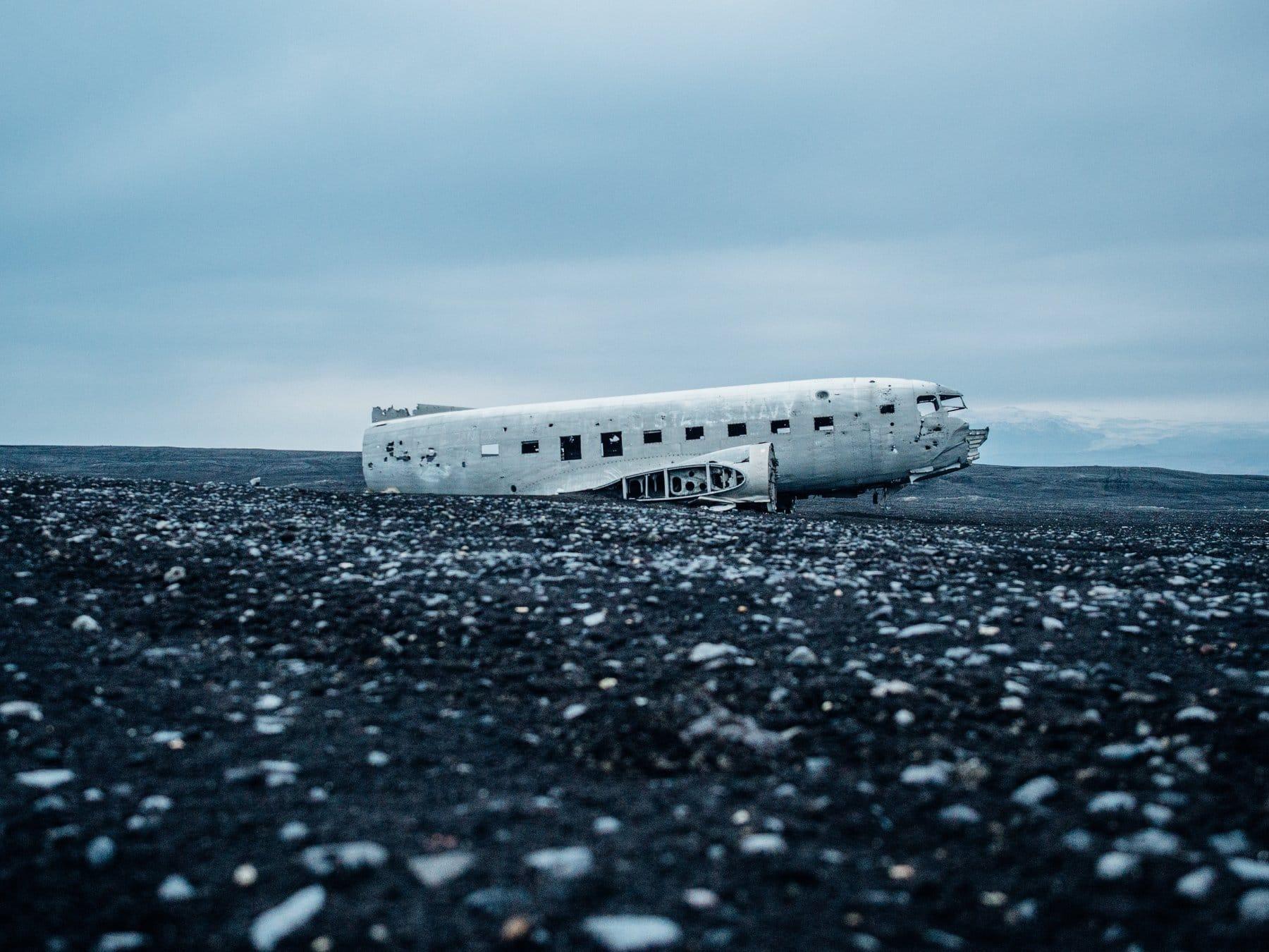 Flugzeugwrack –Referenzen halten nicht ewig
