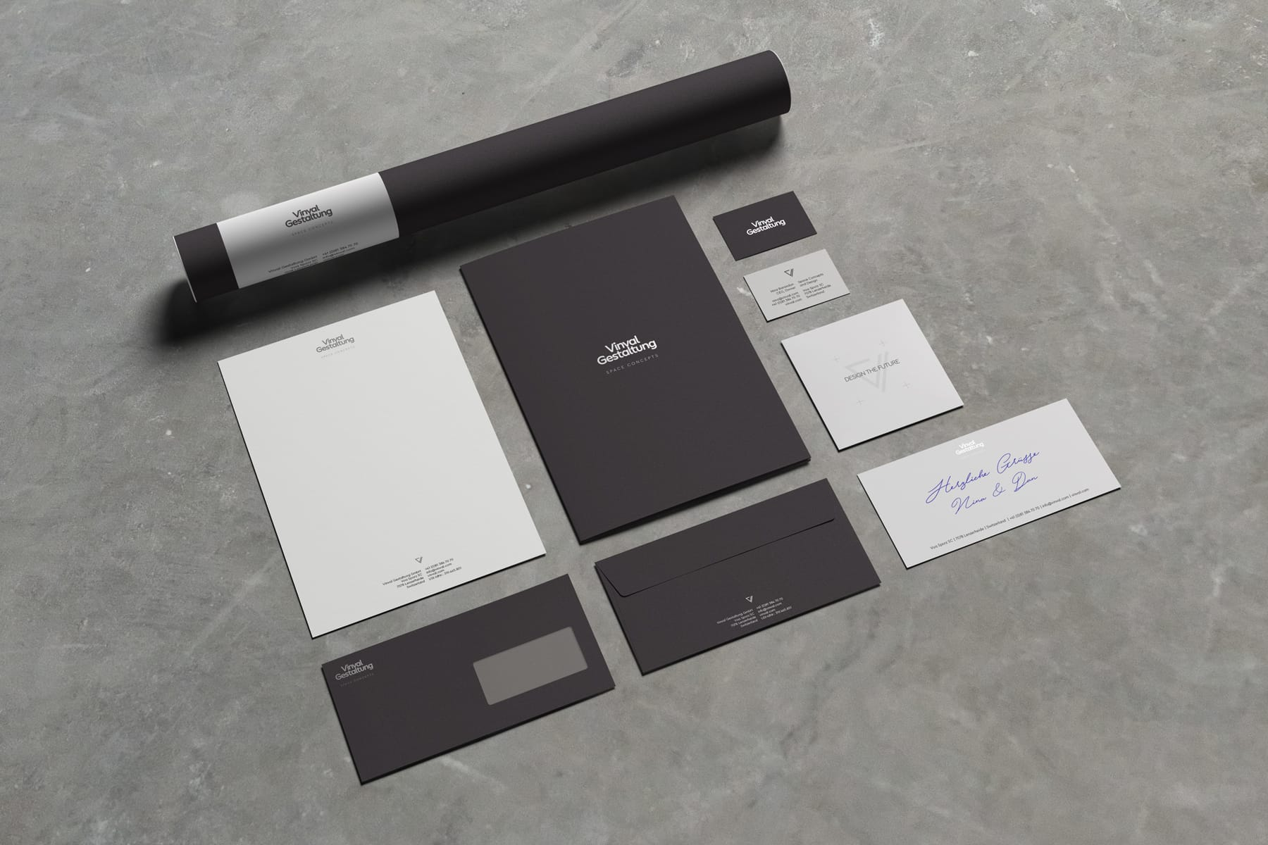 Vinvalg Gestaltung Corporate Identity Design by Firn Studio