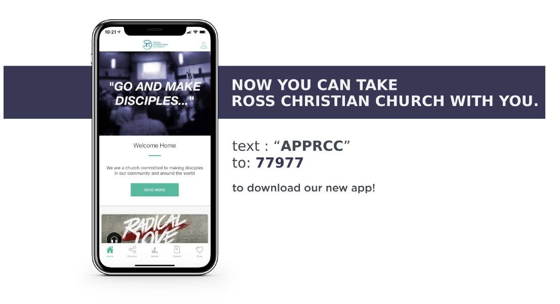 - Make sure to stay connected with your church family by downloading the app! You can give as well as watch Sunday worship services you have missed!