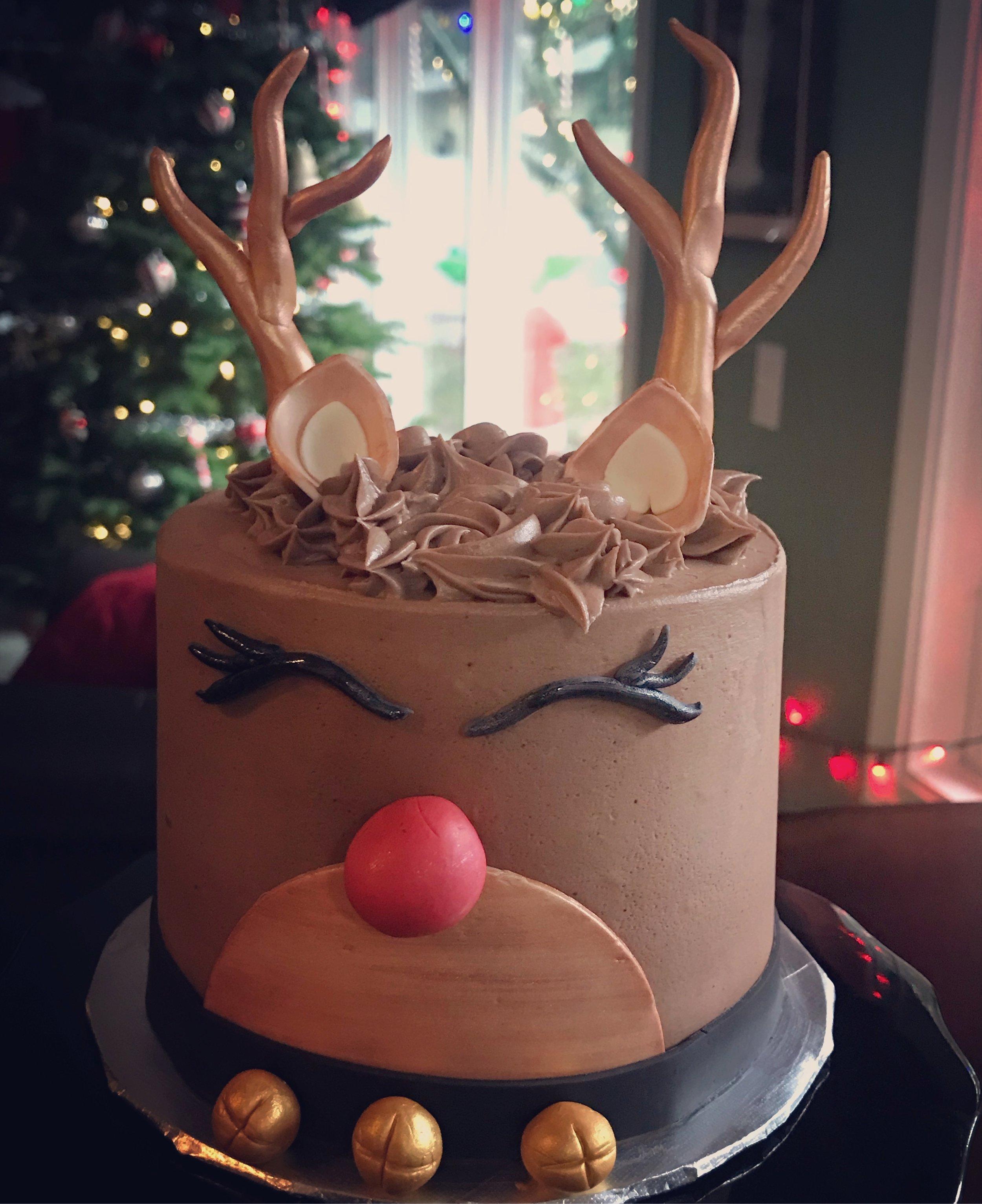 Ruldolf Cake ($50):