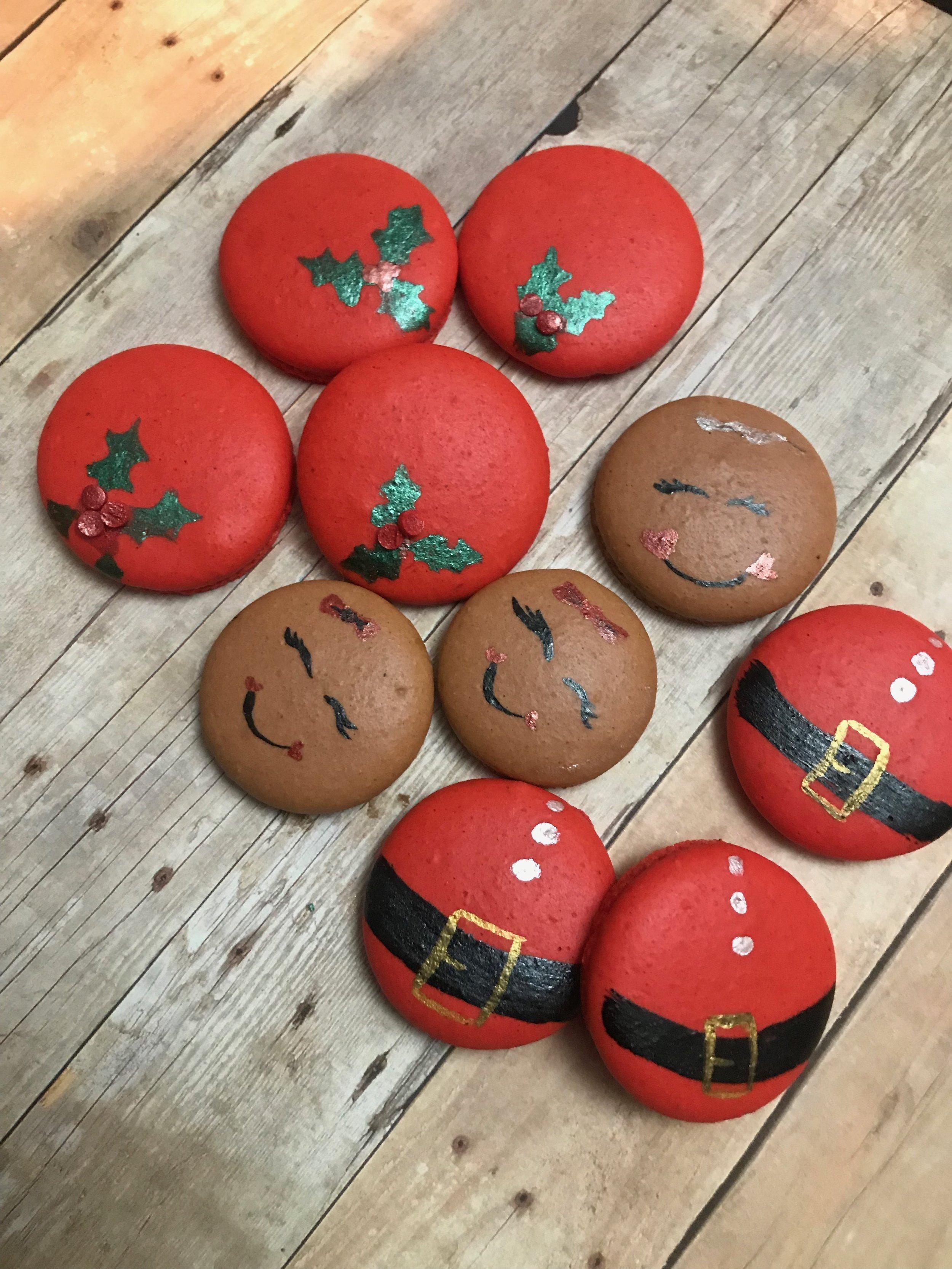 Holiday Macarons $25/dozen