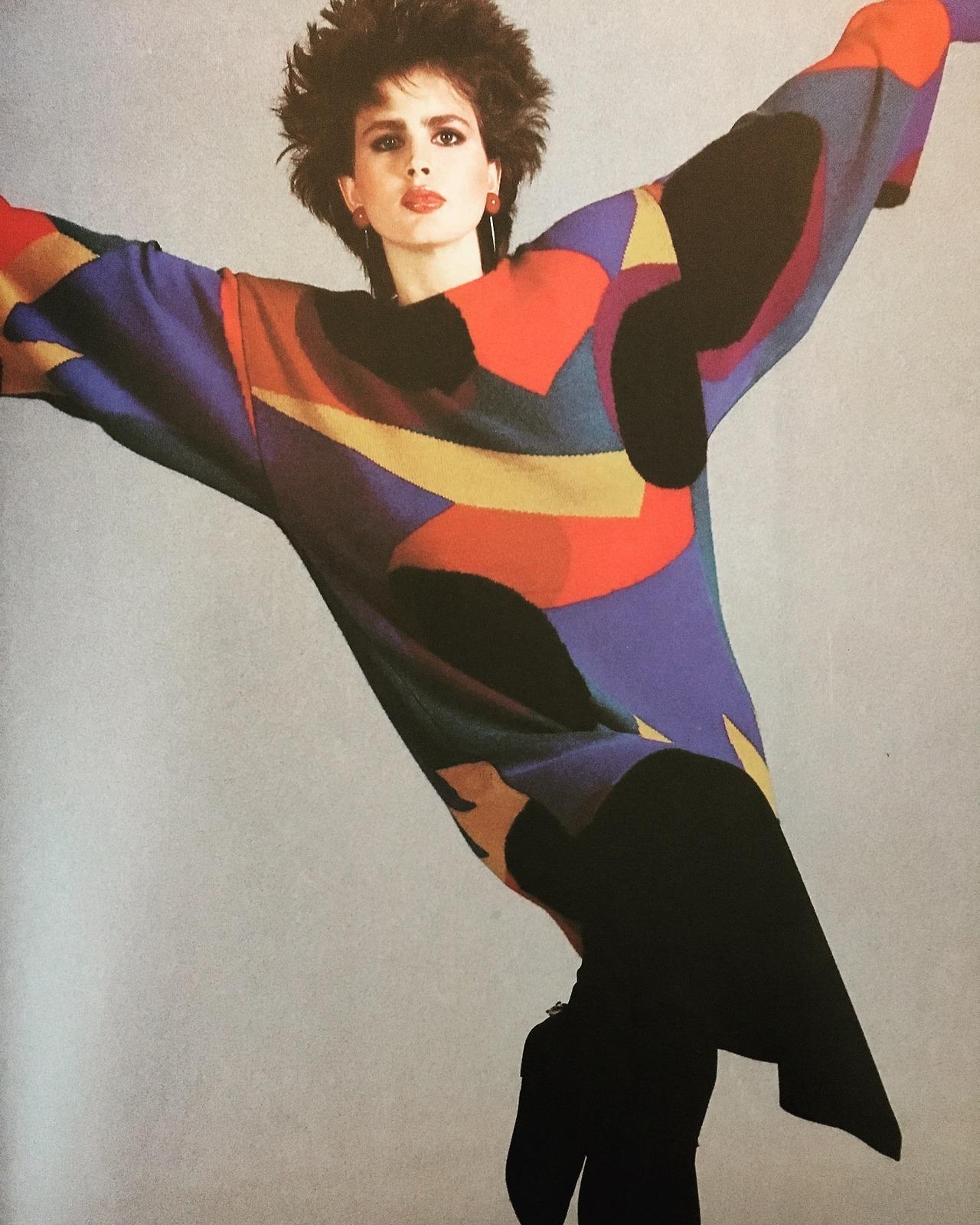 Fast Start. Vogue. July 1984.