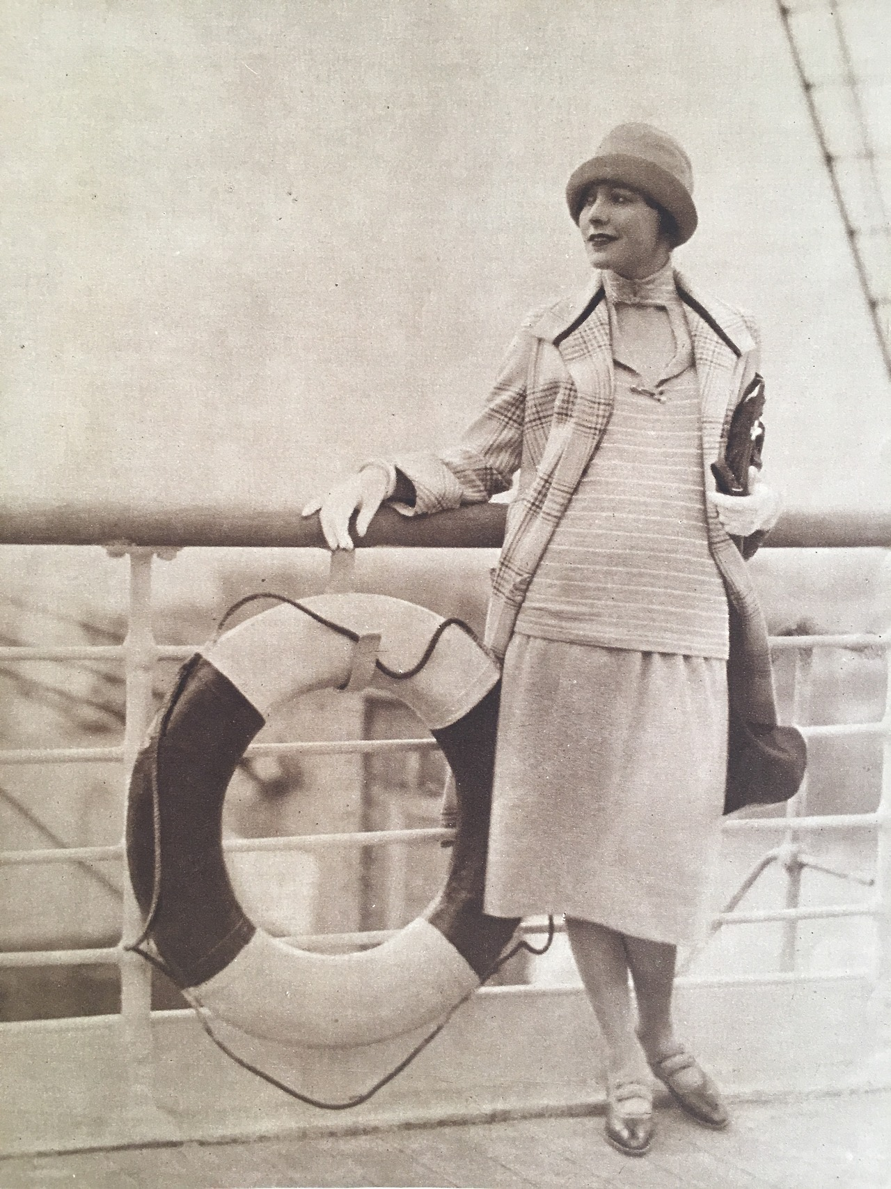 """""""Bon Voyage!""""     Woman's Home Companion. July 1925."""